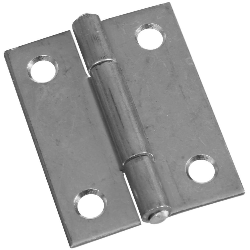 National Hardware 2 in. Non-Removable Pin Hinge-MPB518 2 NAR TP HNG