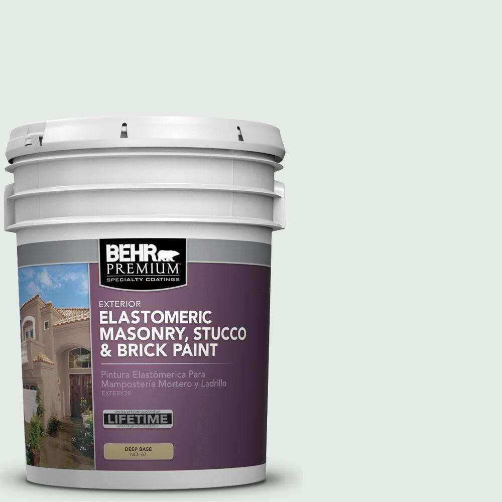 5 gal. #MS-63 White Clad Elastomeric Masonry, Stucco and Brick Paint
