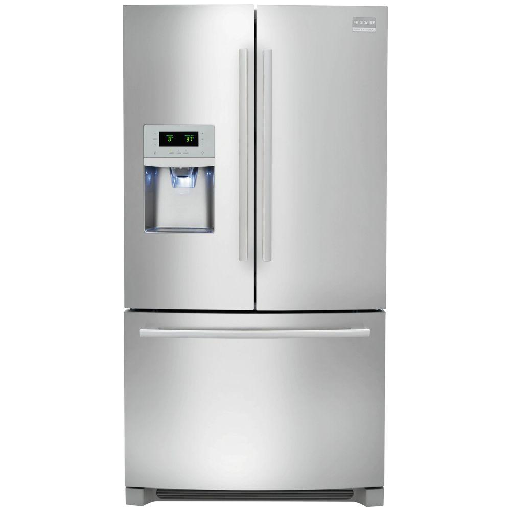 Frigidaire Professional 21.93 cu. ft. French Door Refrigerator in Stainless Steel, Counter Depth