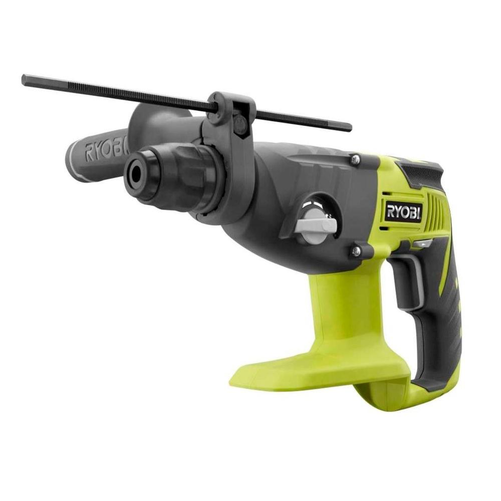 Rotary Hammer: Ryobi Drills 18-Volt One+ SDS-Plus Drill (Tool-Only) P221