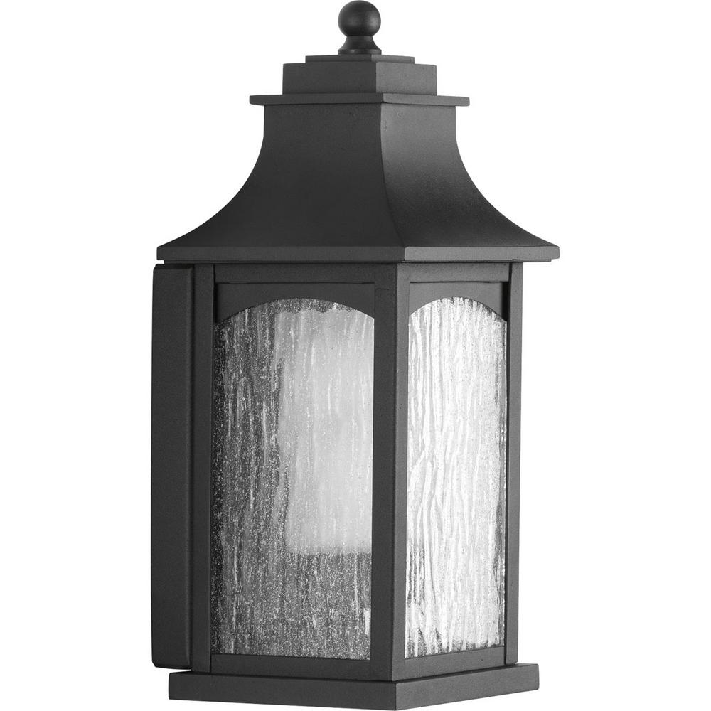 Maison Collection 1-Light Black Wall Lantern