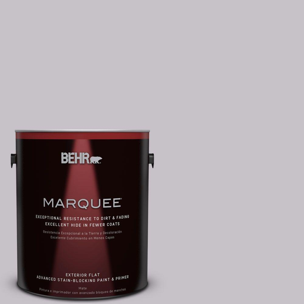 BEHR MARQUEE 1-gal. #MQ5-32 Such Melodrama Flat Exterior Paint-445001 - The
