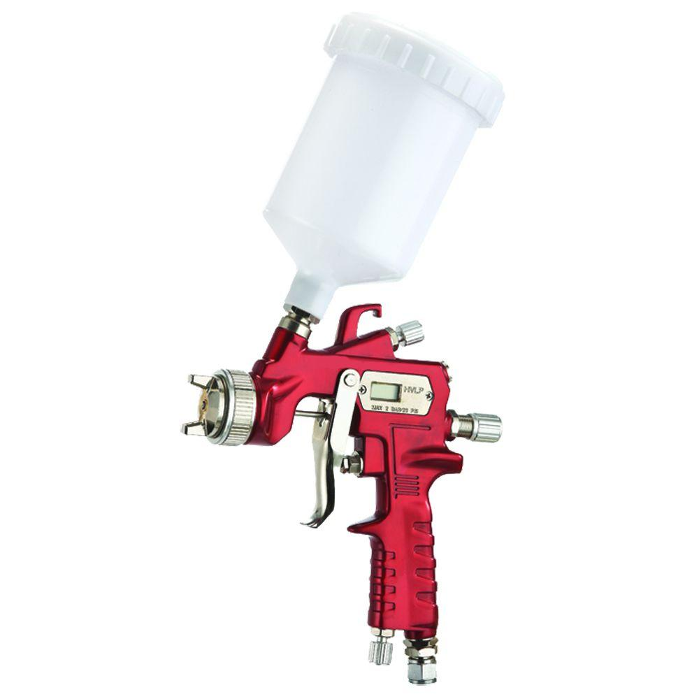 Smarter Tools HVLP Gravity Feed Spray Gun with Digital Air Micrometer