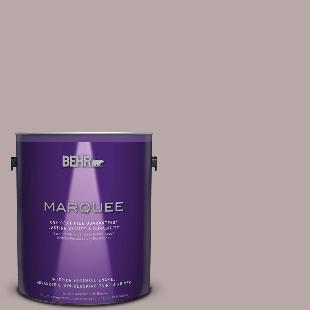 BEHR MARQUEE 1 gal. #MQ1-36 Object of Desire One-Coat Hide Eggshell Enamel Interior Paint