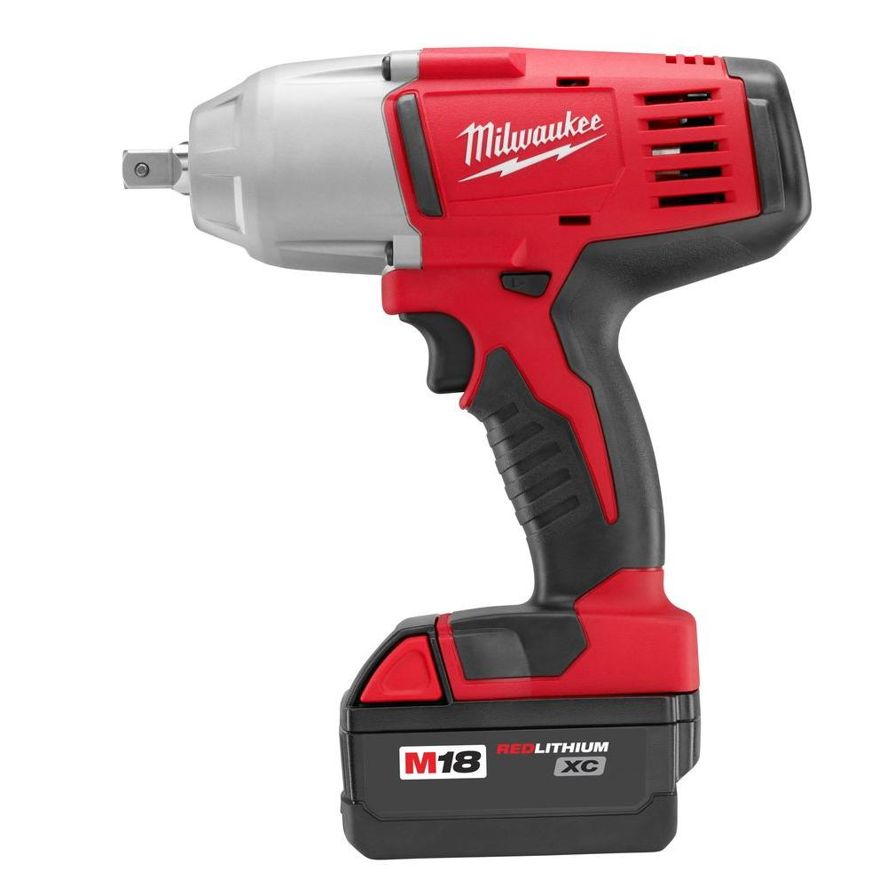 M18 18-Volt Lithium-Ion 1/2 in. Cordless High Torque Impact Wrench