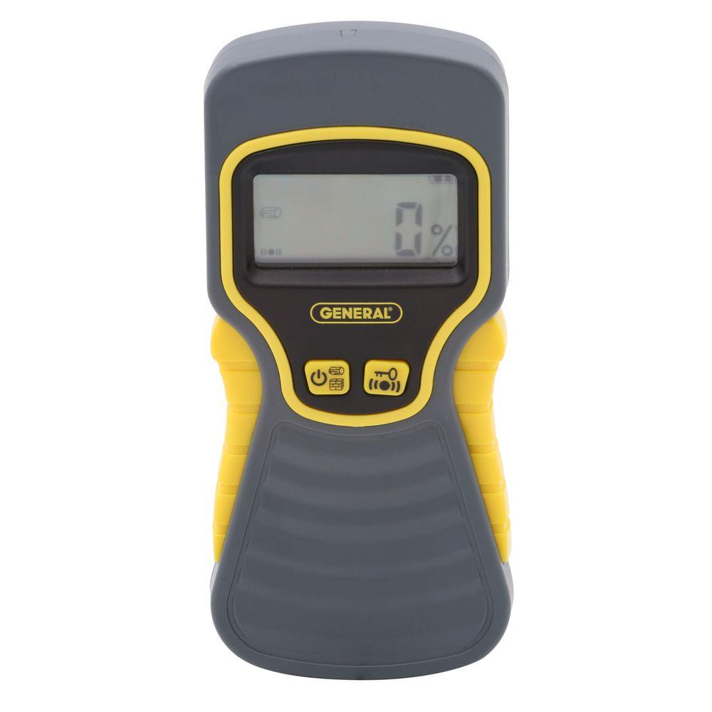 General Tools Non-Invasive Digital Moisture Meter with LCD Display