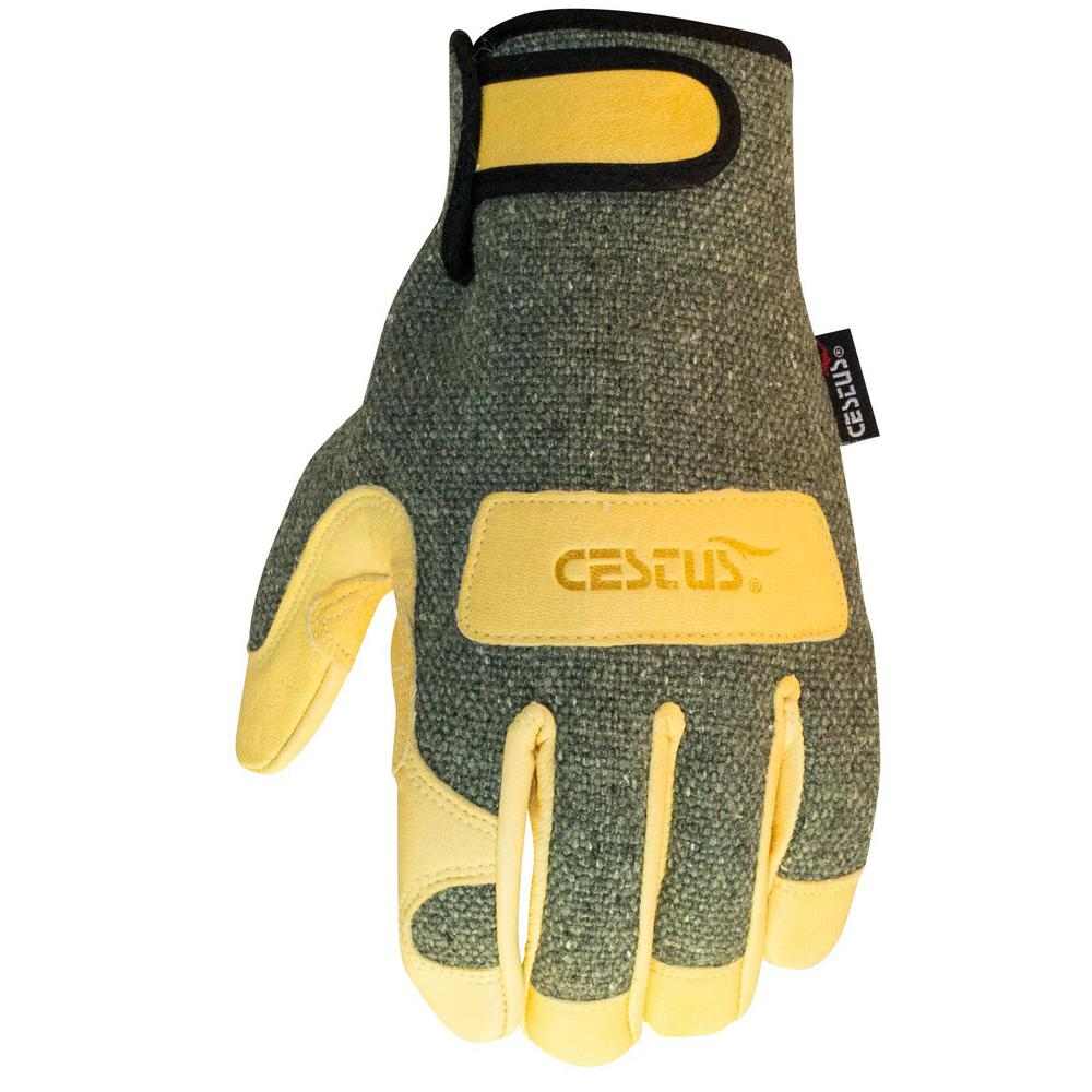 Large WeldTech 1600C Gloves (1-Pack)