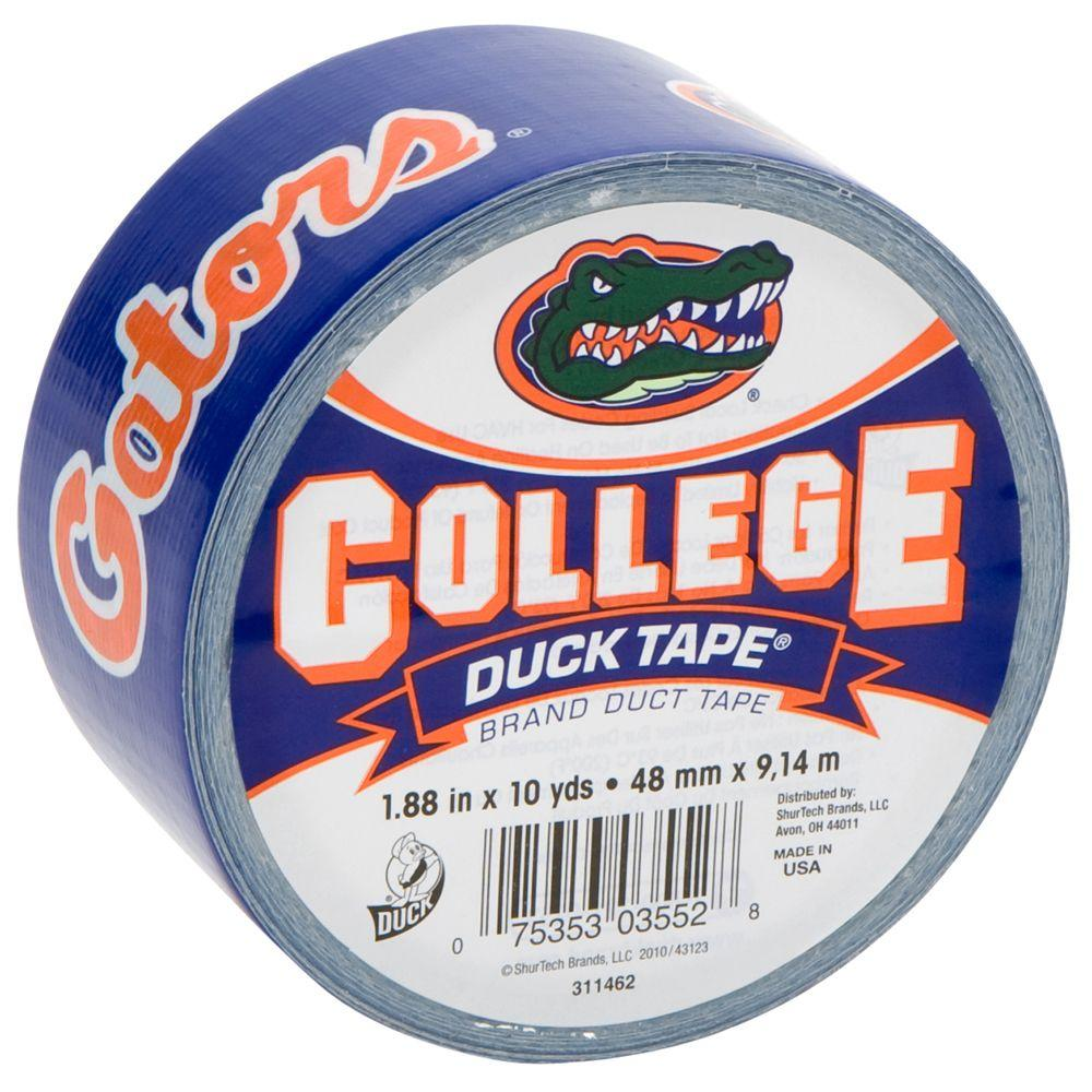College 1-7/8 in. x 30 ft. University of Florida Duct Tape