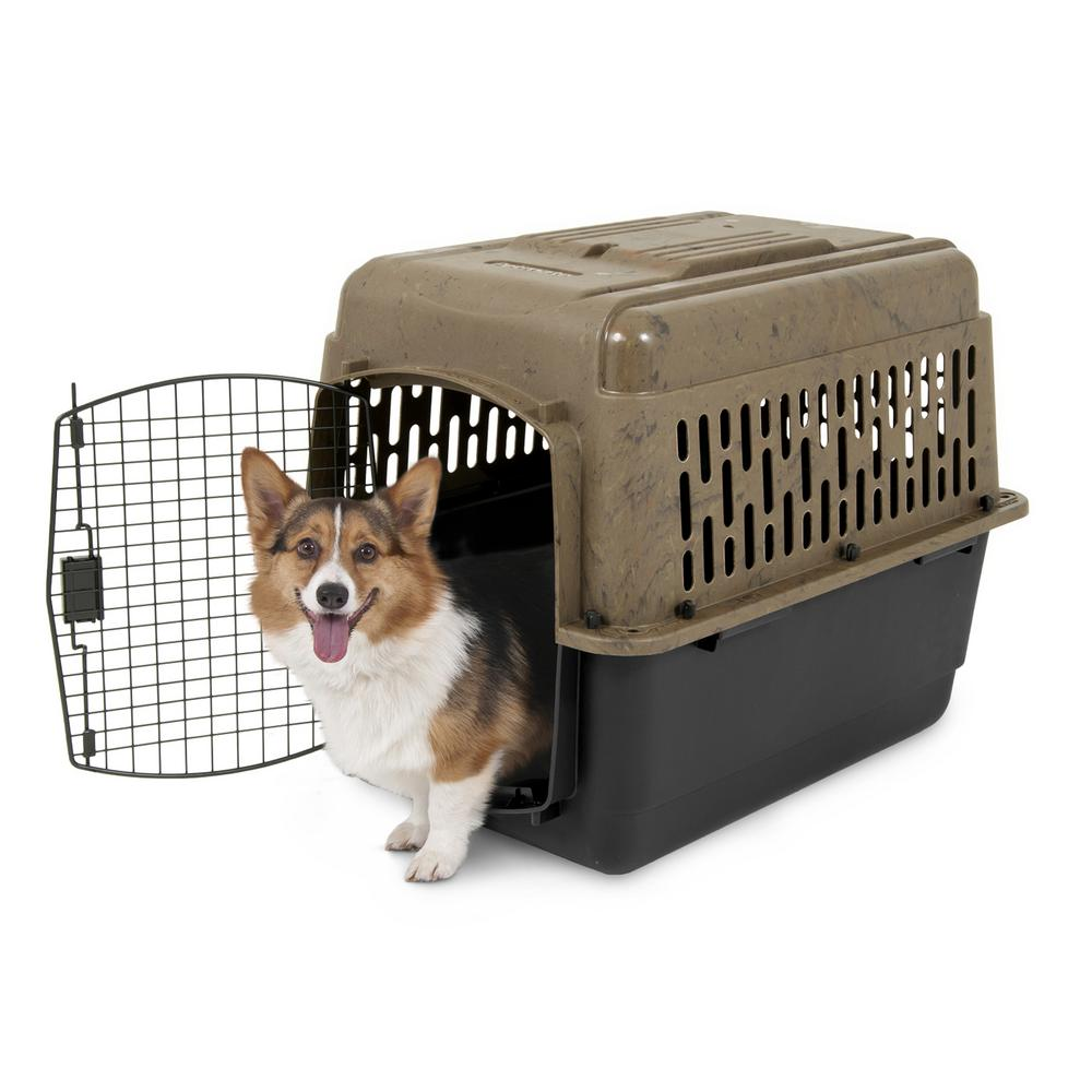 Petmate 32.3 in. x 32.2 in. x 22.4 in. Dog Kennel-08590069