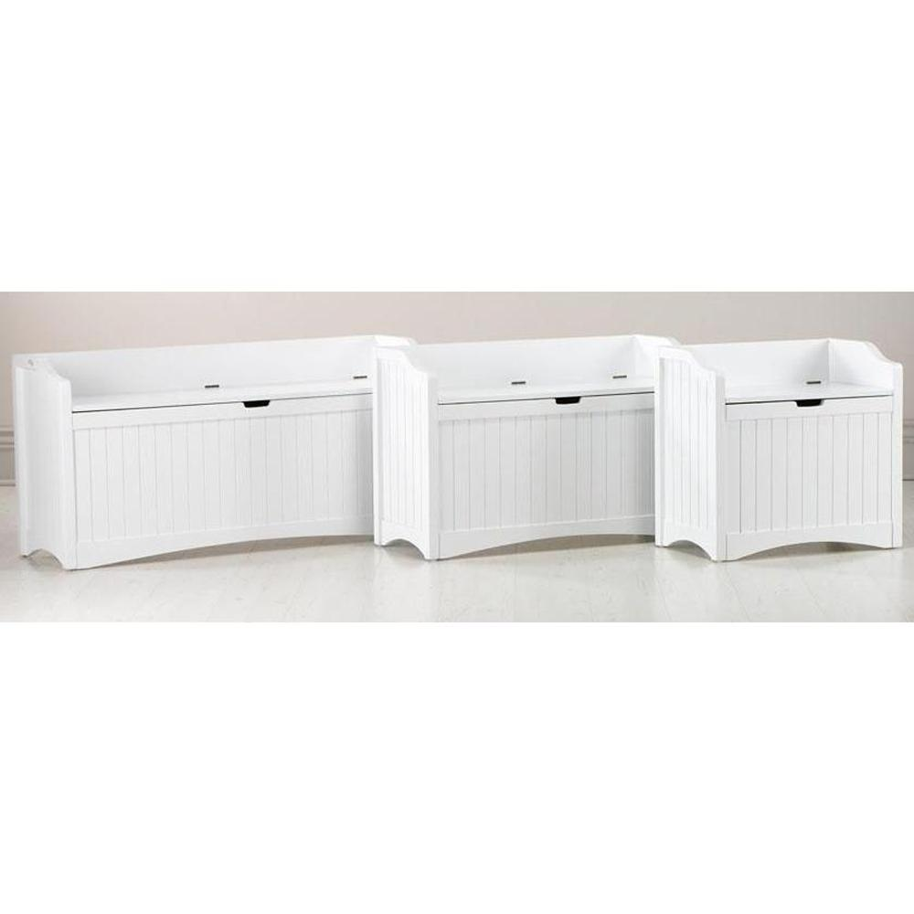 Home Decorators Collection Madison White Bench