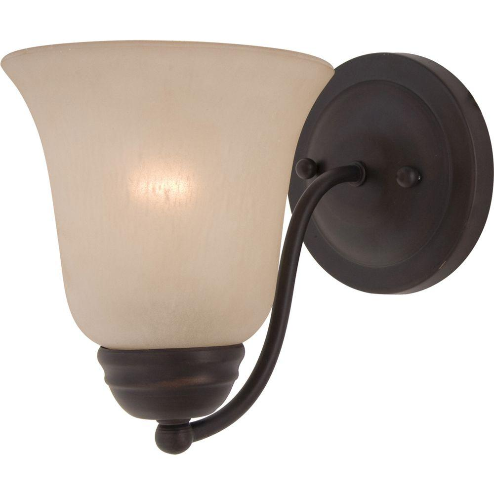 Basix 1-Light Oil-Rubbed Bronze Sconce