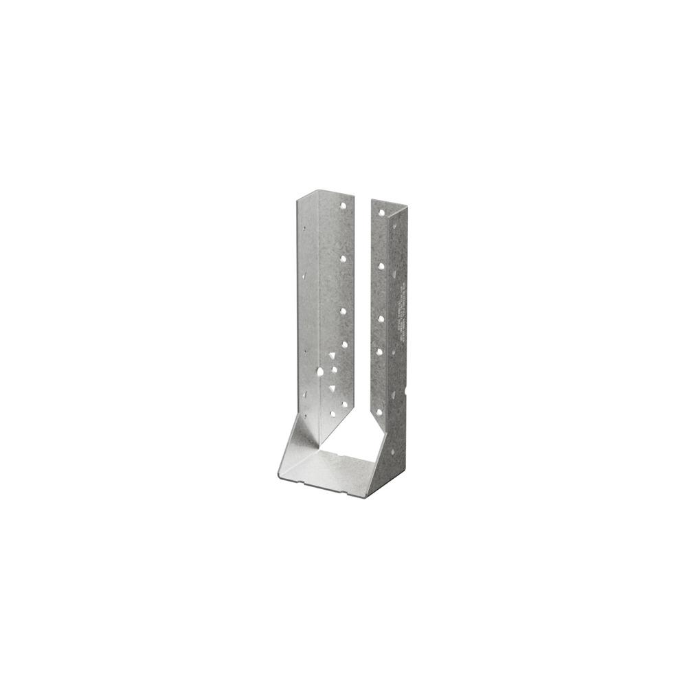 Simpson Strong-Tie Z-MAX Double 2 in. x 10 in. Galvanized Concealed Face Mount Joist Hanger