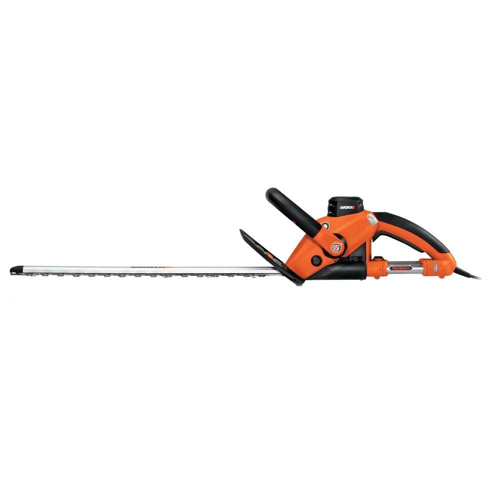 Worx 4 Amp Electric Hedge Trimmer with Extendable Handle-DISCONTINUED
