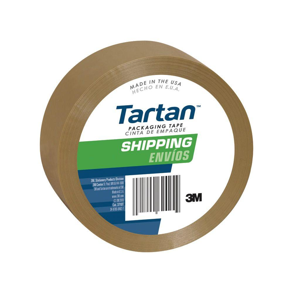 3M 1.88 in. x 109 yds. Shipping Packaging Tape