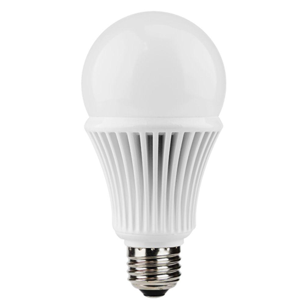 Euri Lighting 60W Equivalent Warm White (3000K) A19 Dimmable LED Light Bulb