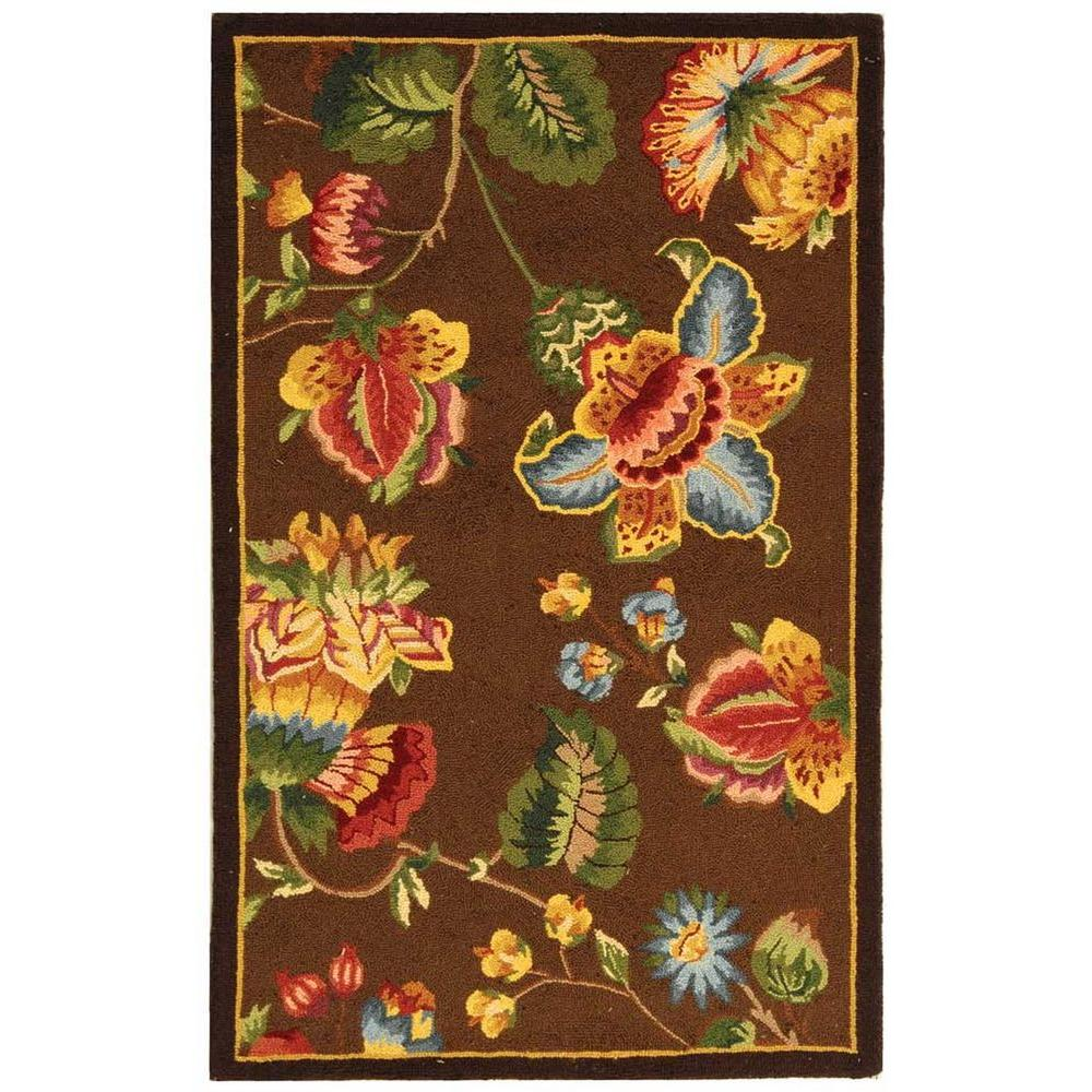 Chelsea Brown 2 ft. 6 in. x 4 ft. Area Rug
