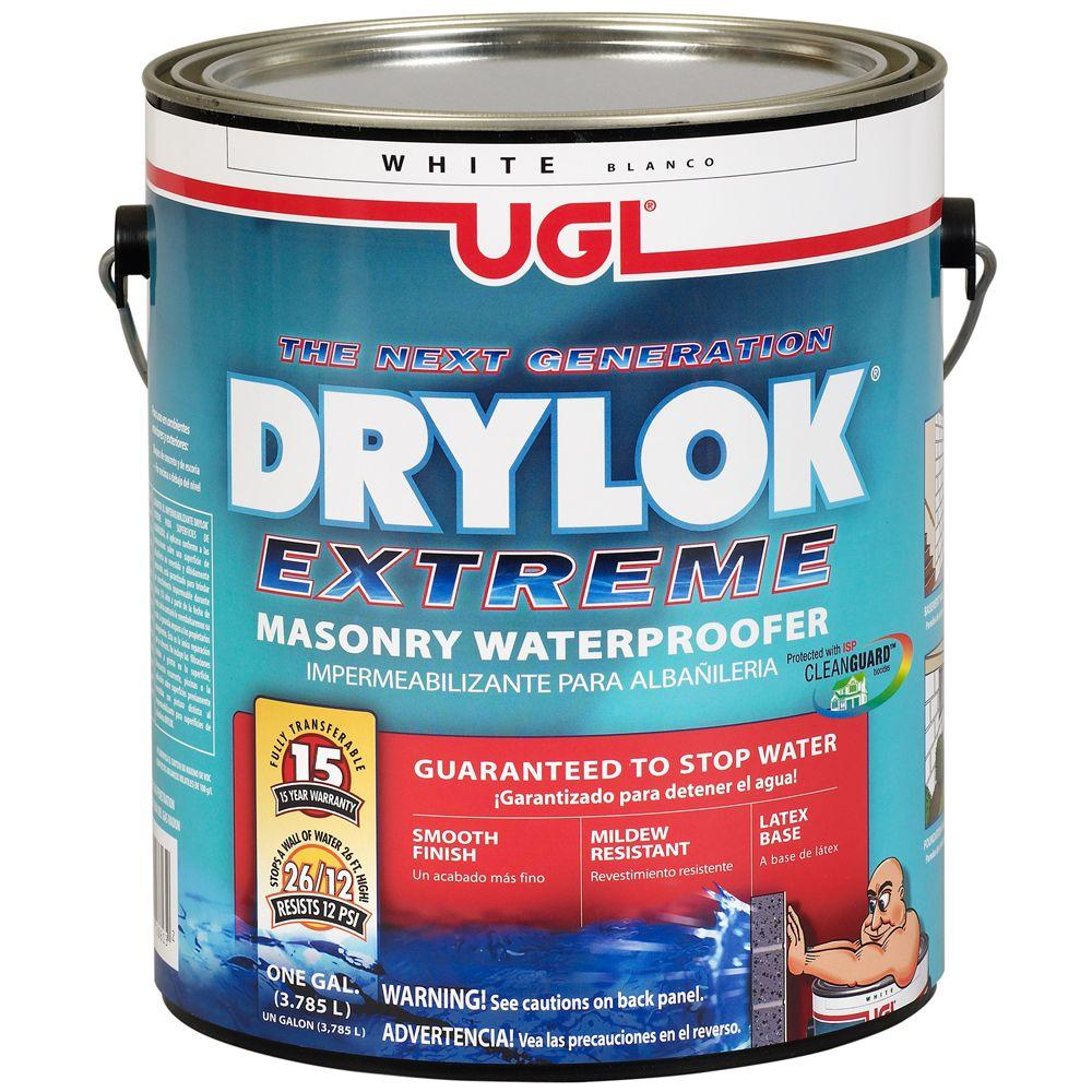 UGL 1 gal. White Drylok Extreme Waterproofer-209100 - The Home Depot