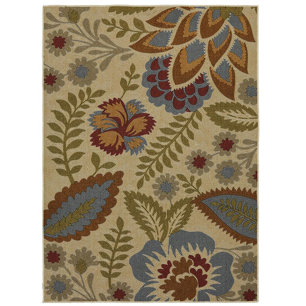 Mohawk Home Crewel Floral Spice 5 Ft. X 7 Ft. Area Rug