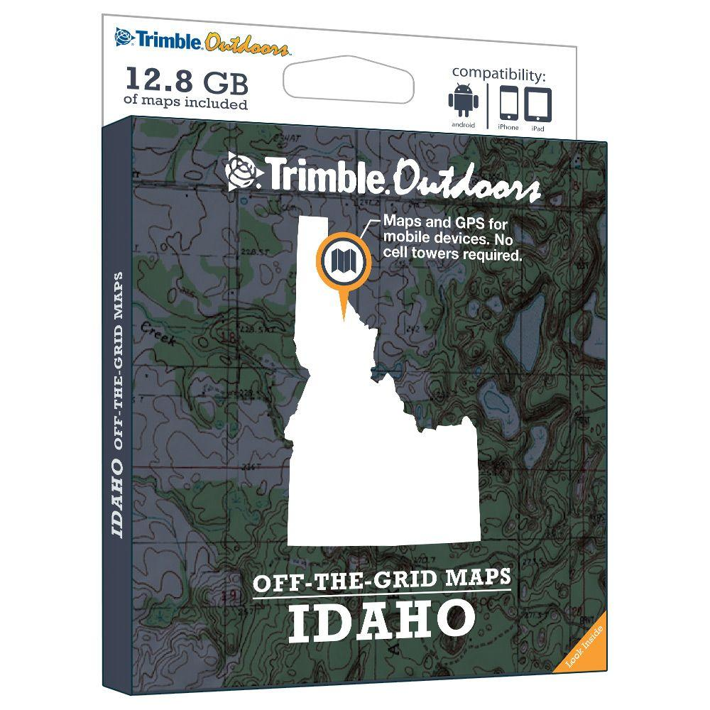 Trimble Outdoors Idaho Off-The-Grid Maps