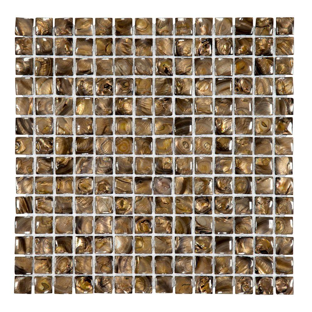 Coffee Beans 12 in. x 12 in. x 4 mm Shell