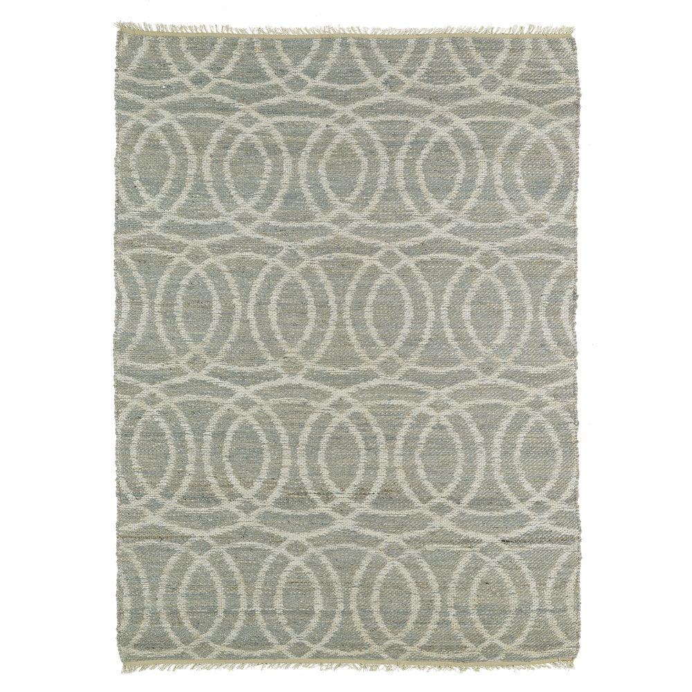 Kenwood Grey 2 ft. x 3 ft. Double Sided Area Rug