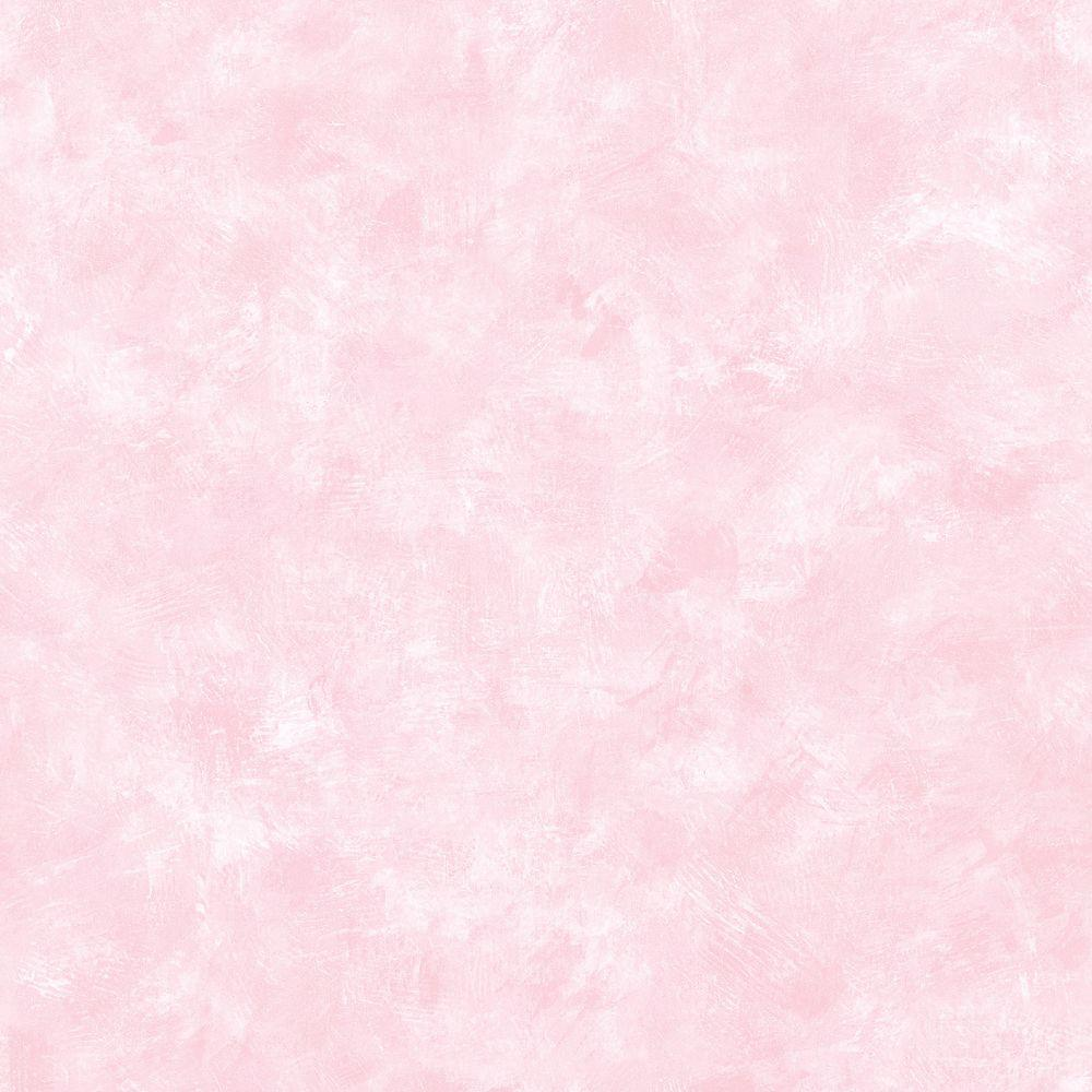56 sq. ft. Gypsum Pink Plaster Texture Wallpaper, Multicolor