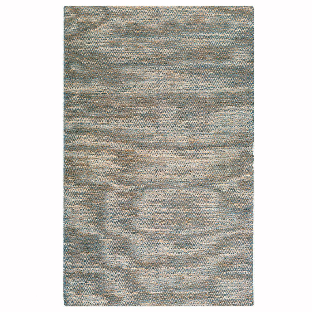Home Decorators Collection Zigzag Blue 8 ft. x 11 ft. Area Rug