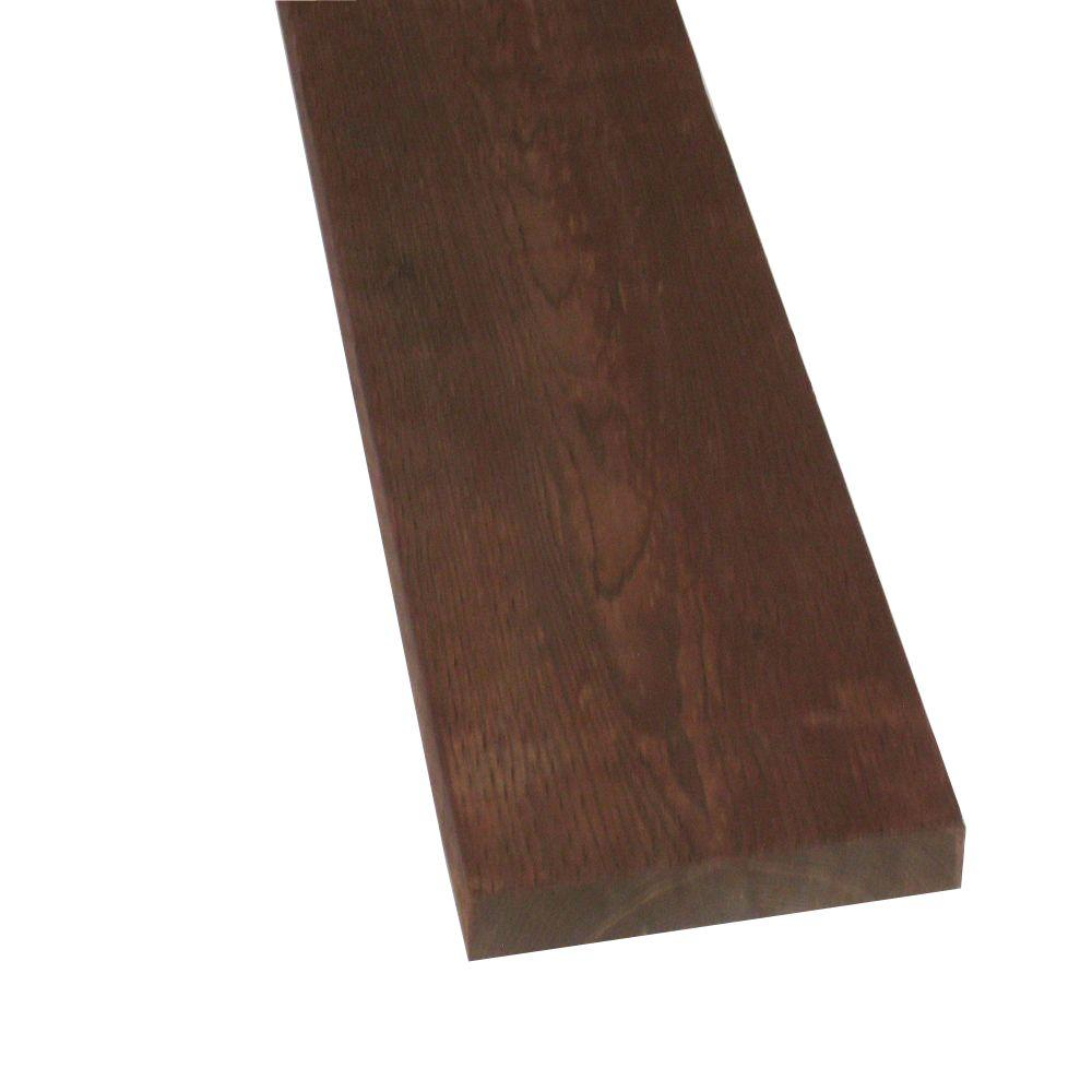 Pressure-Treated Lumber DF Brown Stain (Common: 2 in. x 10 in.