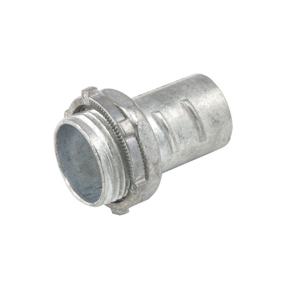 null Flex 1/2 in. Screw-in Connector (50-Pack)
