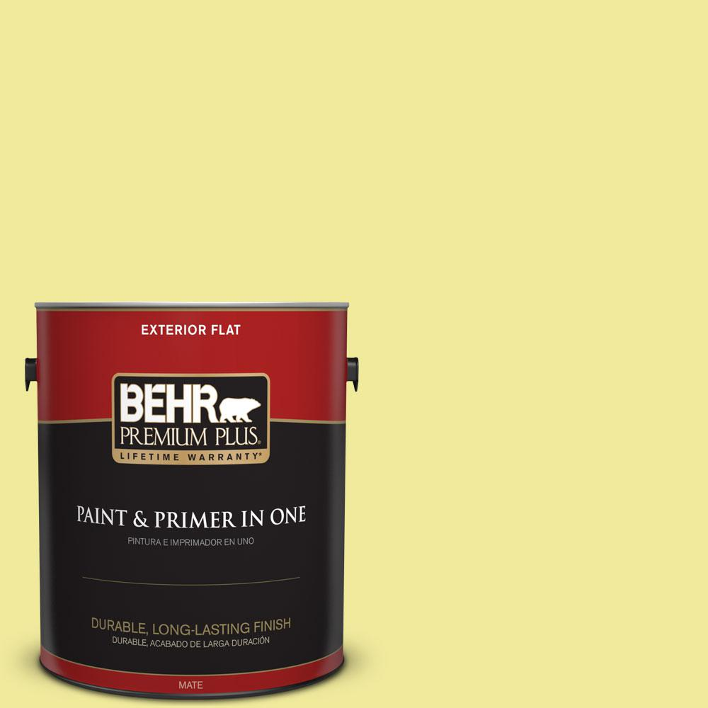 1-gal. #400A-3 Pear Flat Exterior Paint