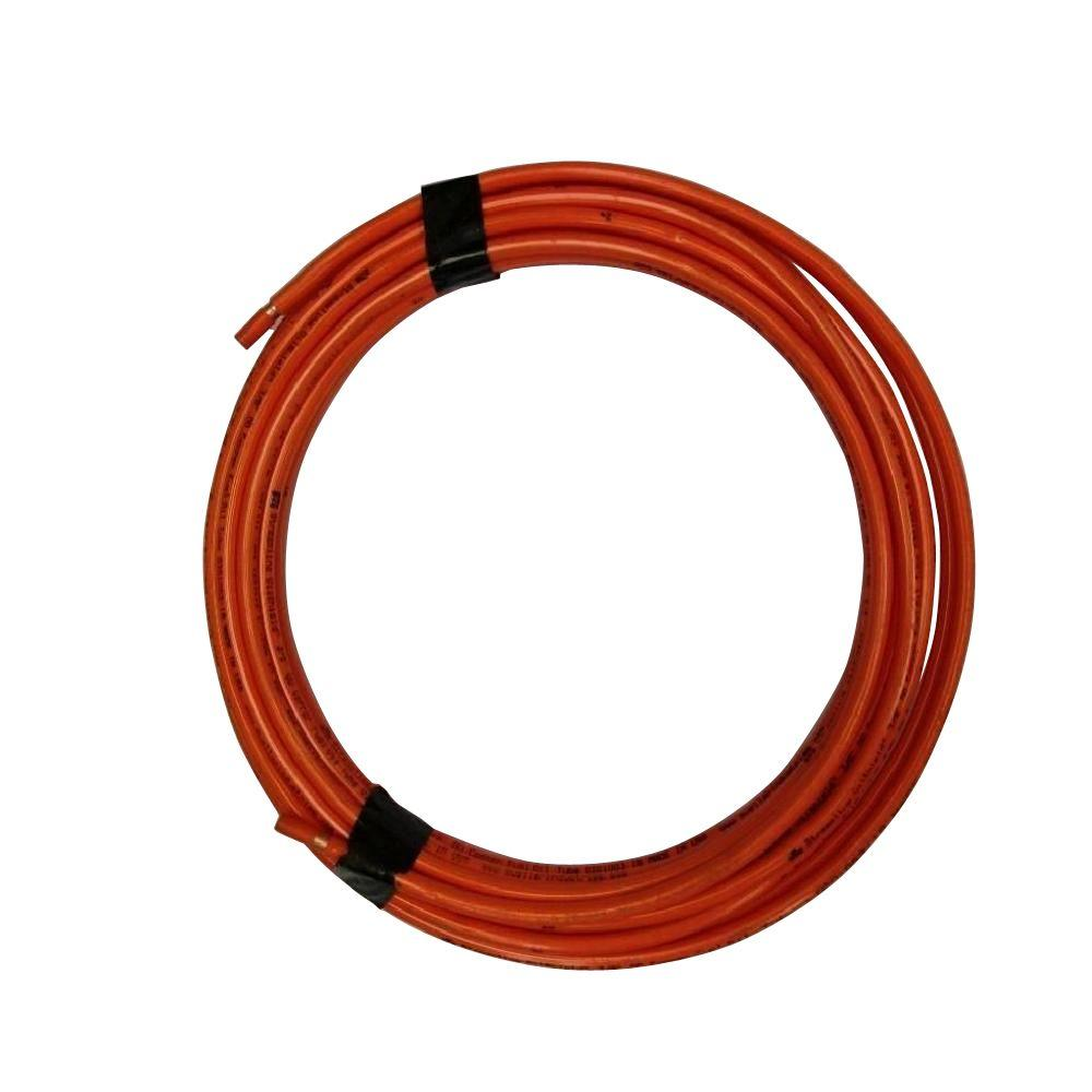 null 3/8 in. x 50 ft. Copper Oil Line