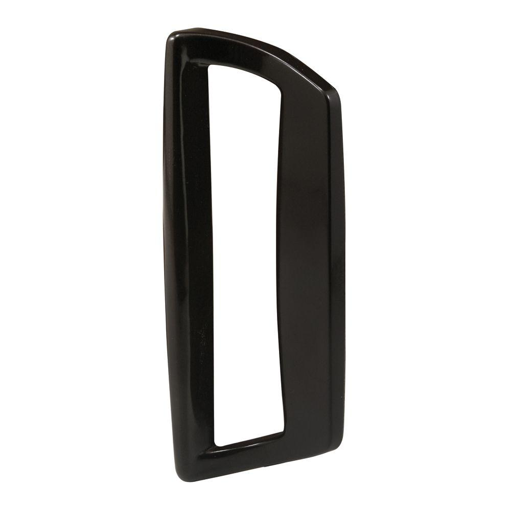Black Diecast Sliding Door Outside Pull