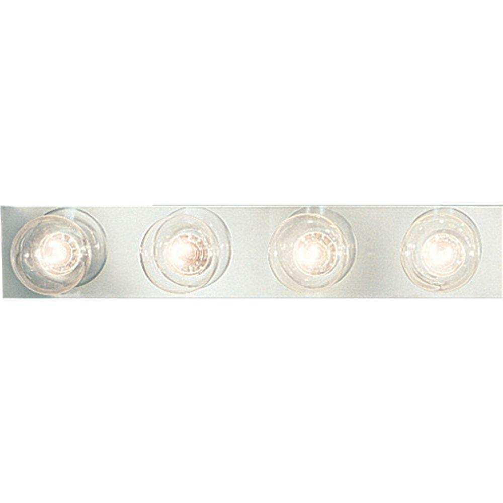 Progress Lighting Broadway Collection 4-Light Chrome Vanity Fixture-DISCONTINUED
