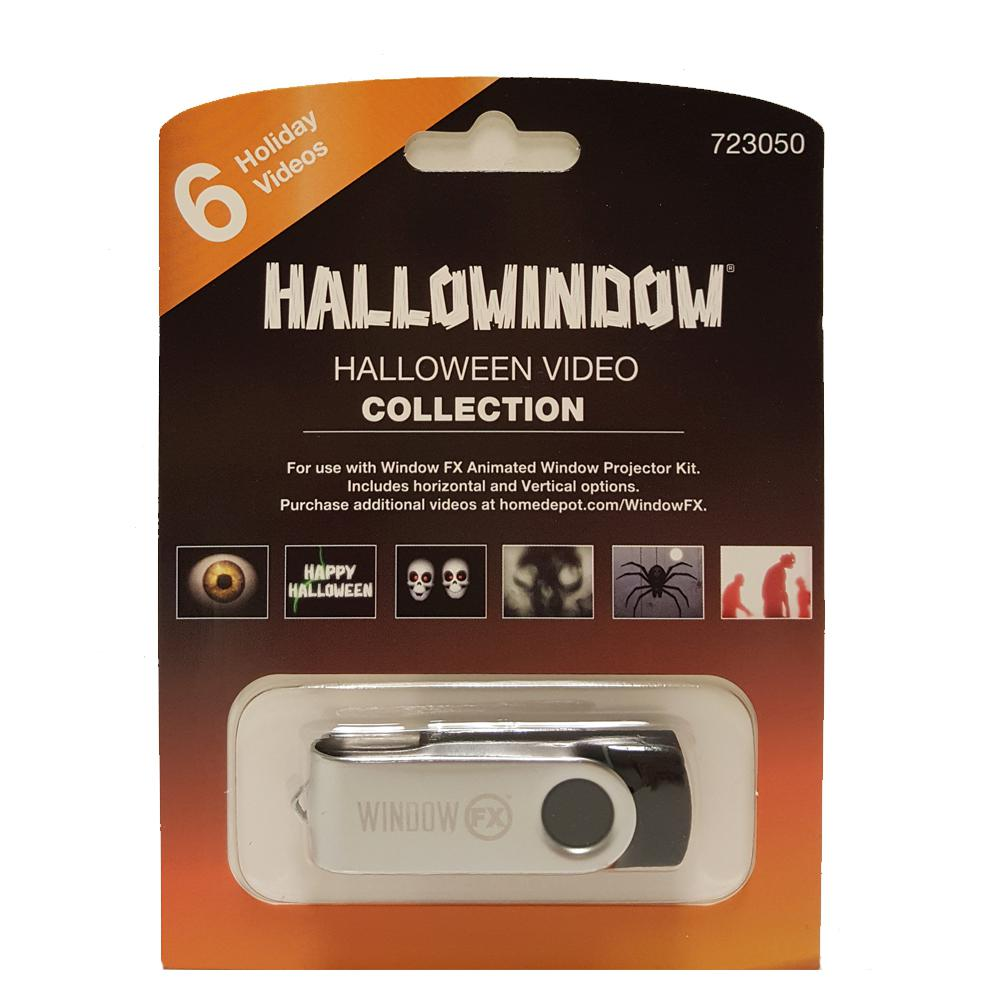 2 in. Mark Gervais Halloween Collection USB with 6 videos