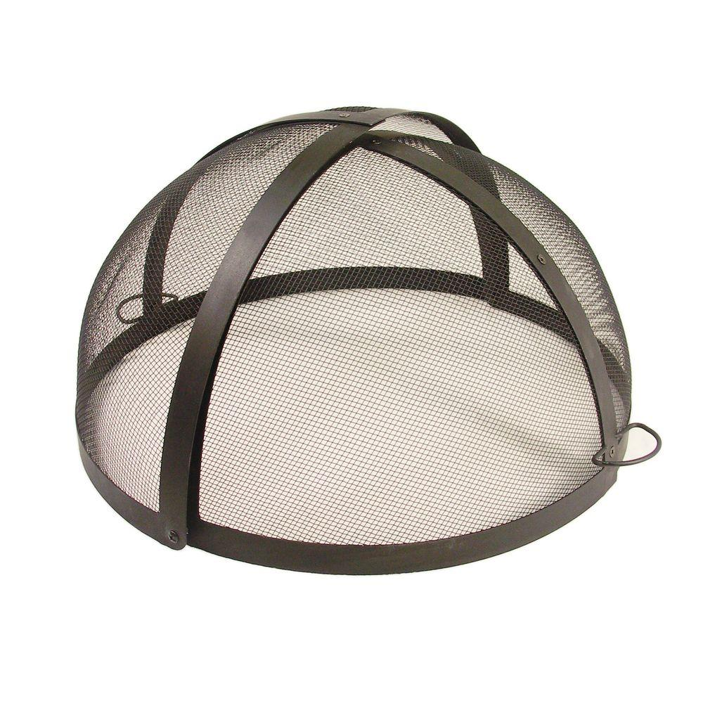 Catalina Creations 24 in. Fire Pit Folding Spark Screen