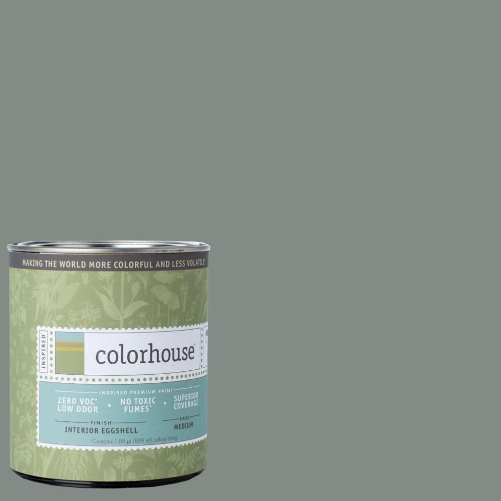 Colorhouse 1-qt. Stone .07 Eggshell Interior Paint-662670 - The Home Depot