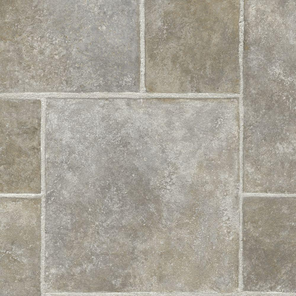 TrafficMASTER Multi-Dimensional Slate 12 ft. Wide x Your Choice Length Vinyl