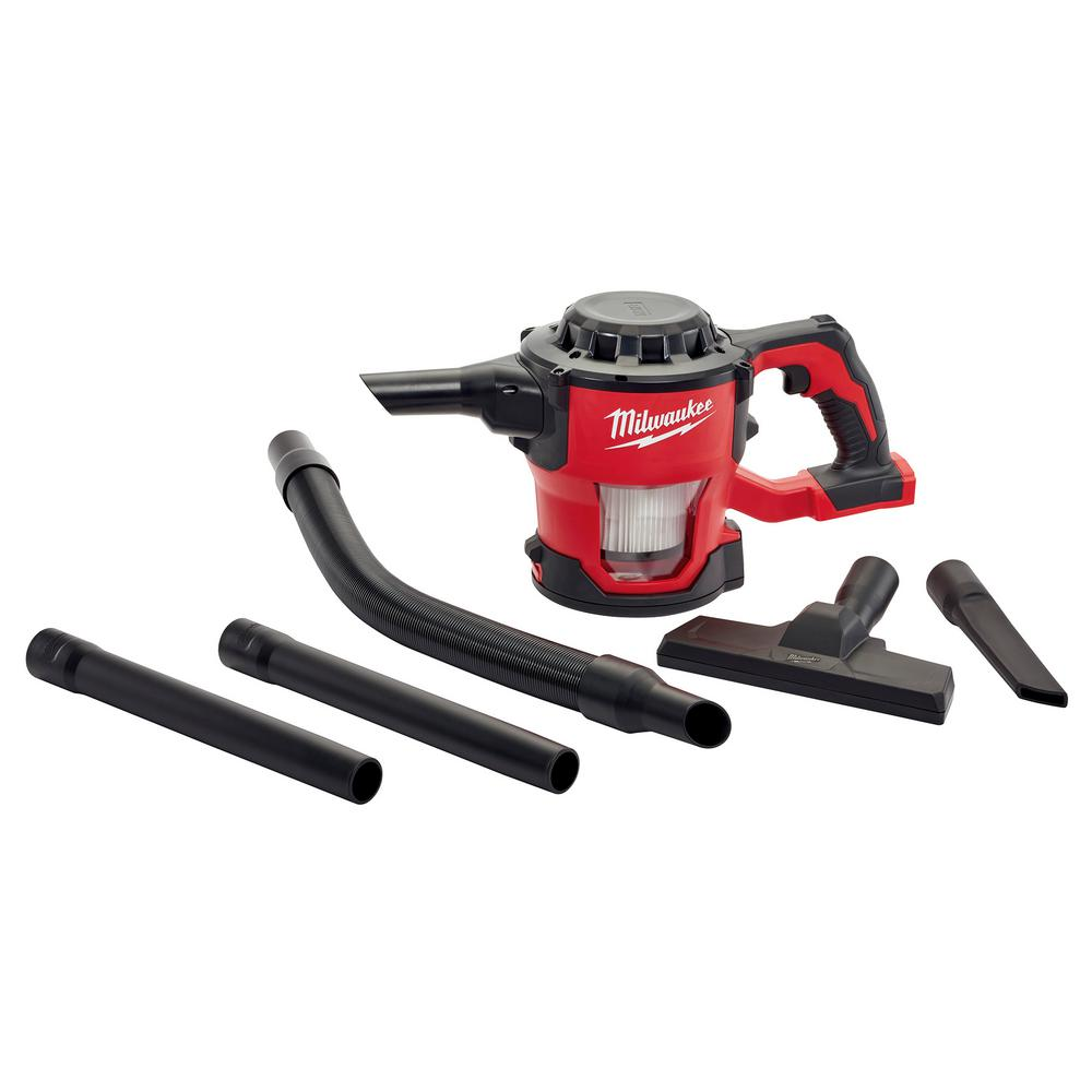 M18 18-Volt Cordless Lithium-Ion Compact Vacuum (Tool-Only)
