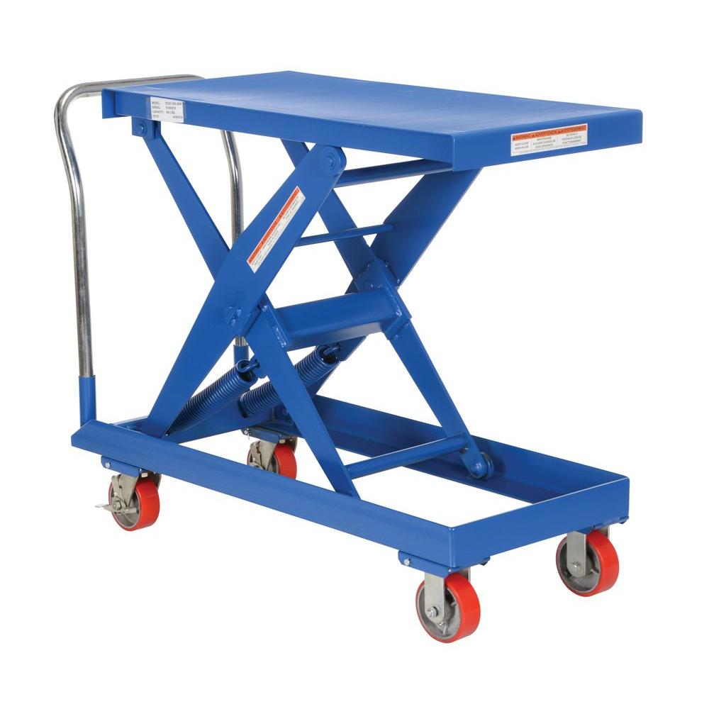 20 in. x 40 in. 500 lb. Auto-Hite Steel Cart