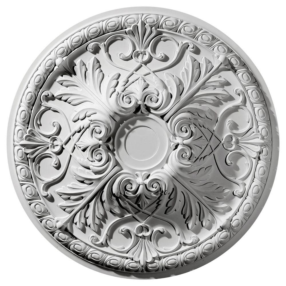 Ekena Millwork 32-3/8 in. O.D. x 4-1/8 in. I.D. Tristan Ceiling Medallion