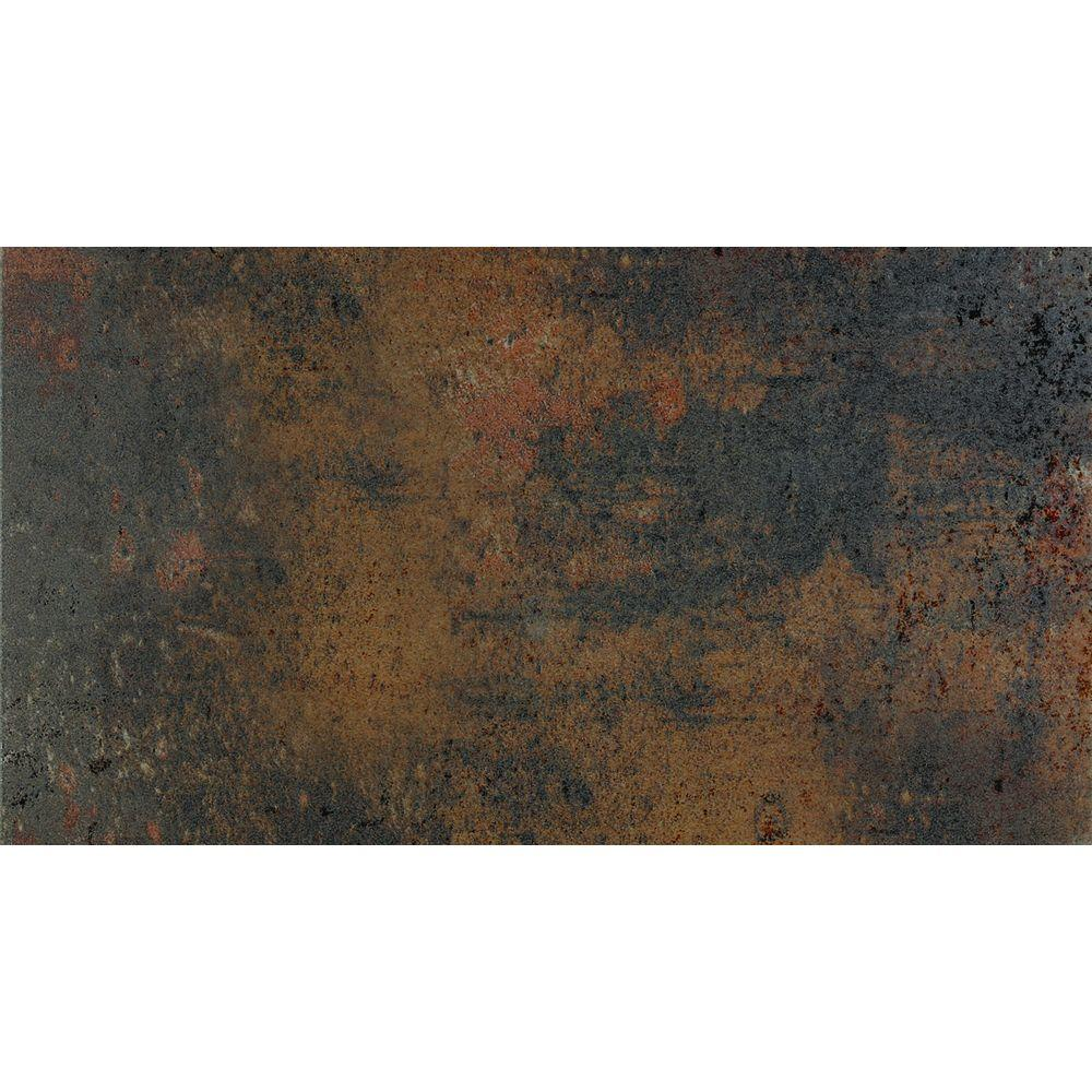 U.S. Ceramic Tile Argos 13 in. x 24 in. Antracita Porcelain Floor and Wall Tile-DISCONTINUED