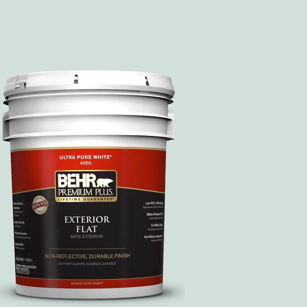 5-gal. #S430-1 Melting Moment Flat Exterior Paint