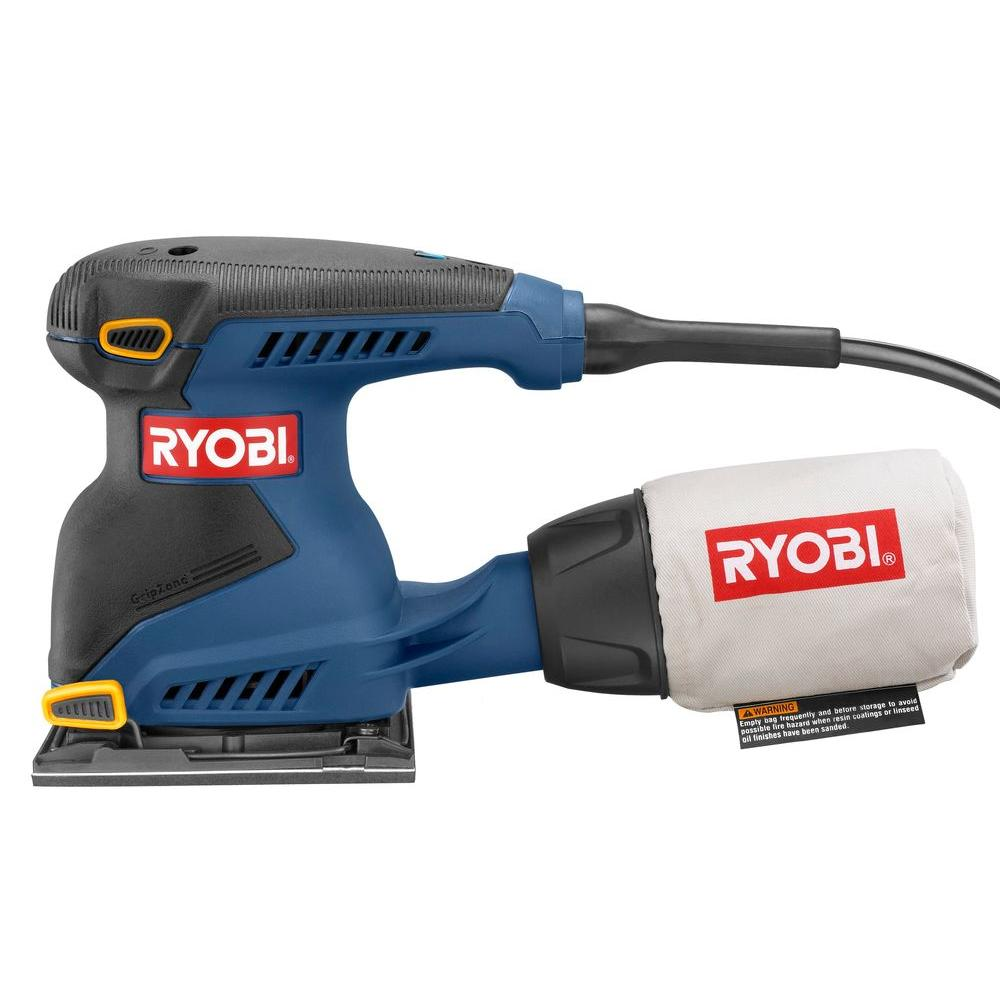 Ryobi Reconditioned 2-Amp 1/4 in. Sheet Sander