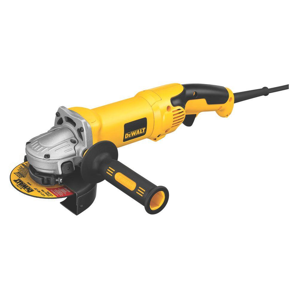 DEWALT 120-Volt 5 in./6 in. High Performance Grinder with No-Lock On