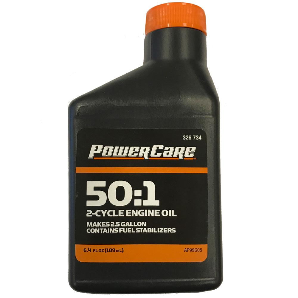 Power Care 6.4 oz. Synthetic-Blend 2-Cycle Oil