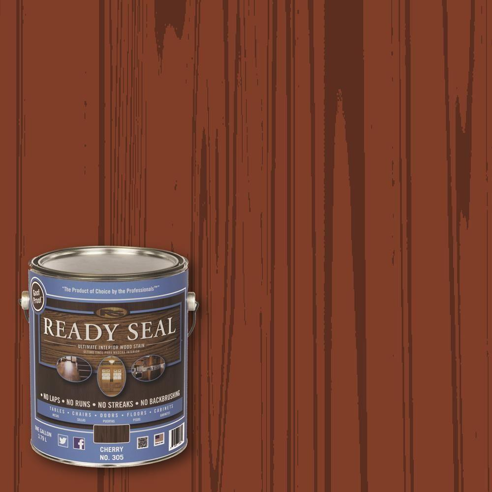 READY SEAL 1 gal. Cherry (Red) Ultimate Interior Wood Stain and Sealer