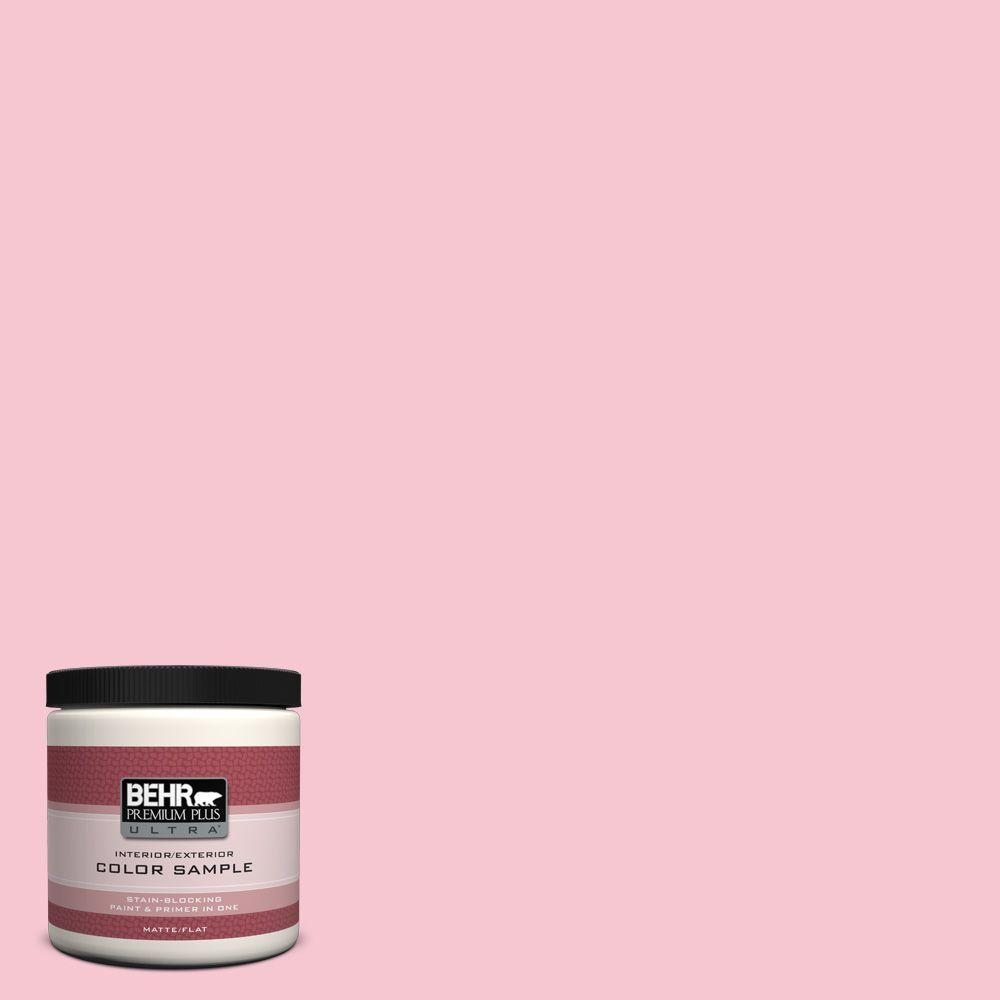 8 oz. #120B-4 Old Fashioned Pink Interior/Exterior Paint Sample