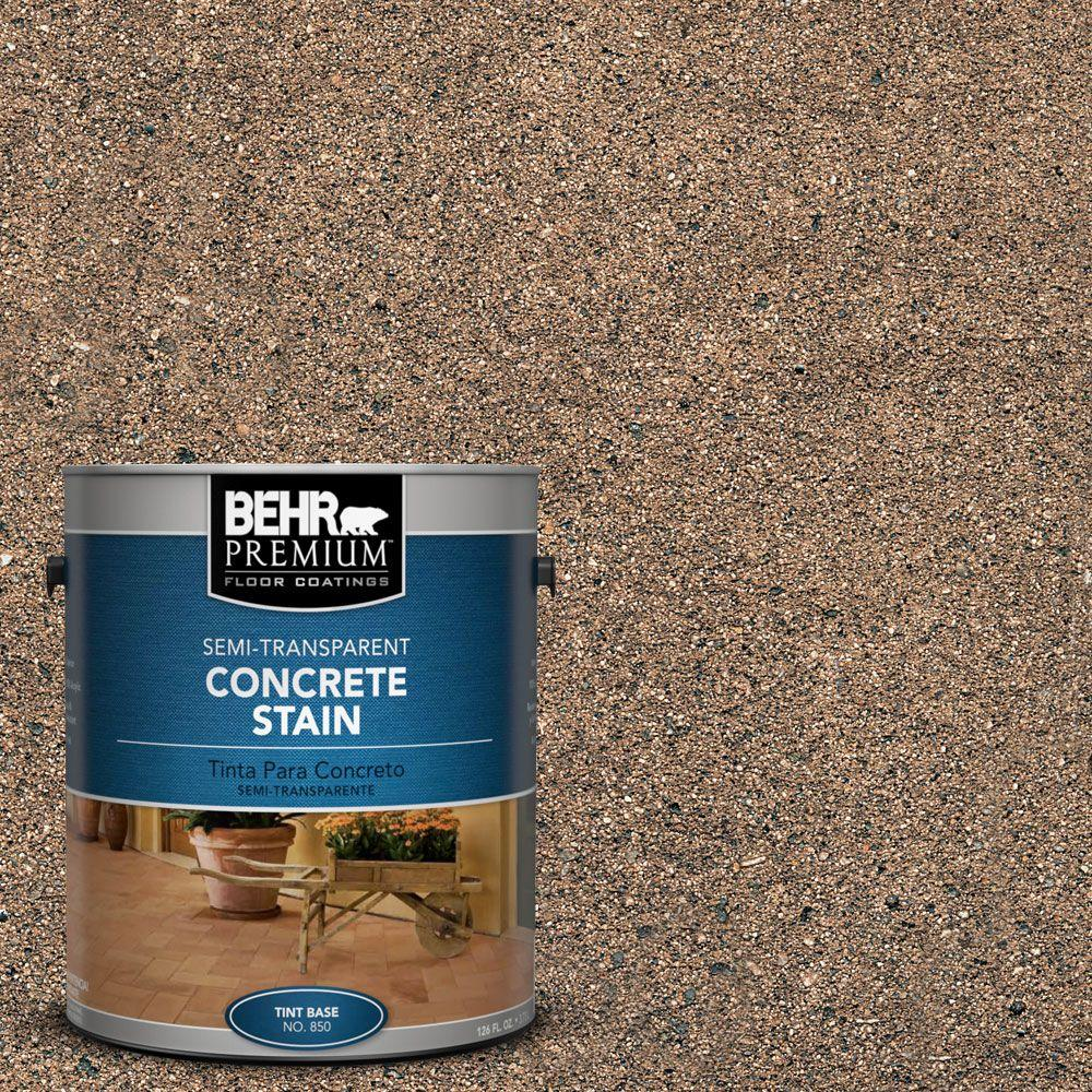 1-gal. #STC-22 Loden Semi-Transparent Concrete Stain