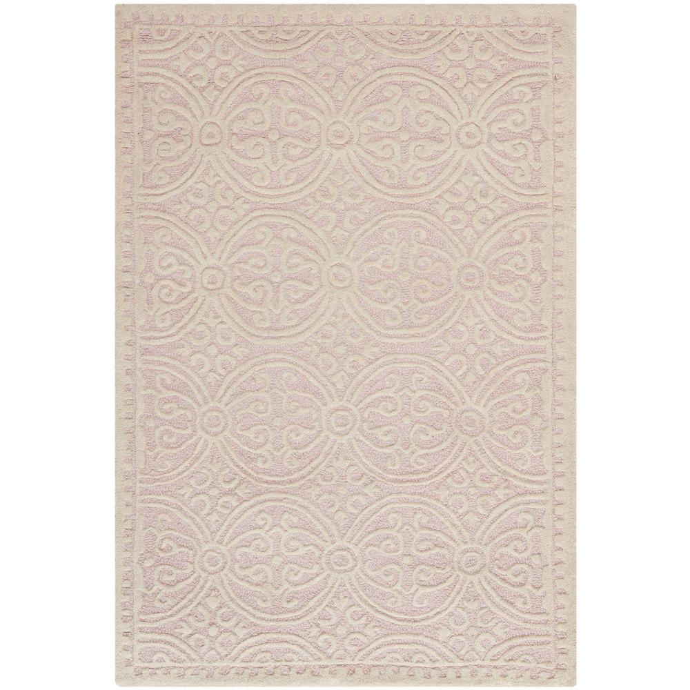 Cambridge Light Pink/Ivory 4 ft. x 6 ft. Area Rug