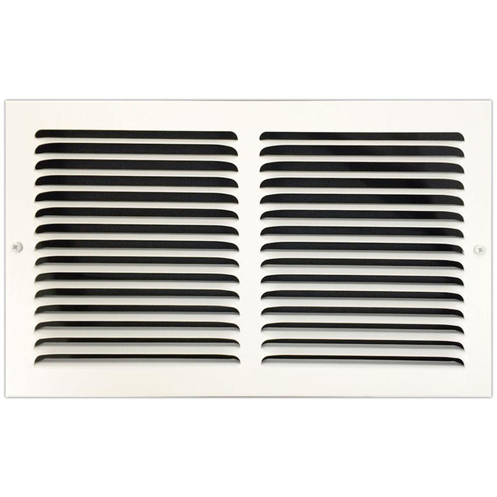 14 in. x 8 in. Base Board Return Air Vent Grille